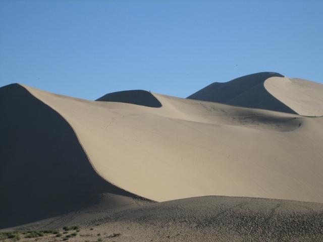 黄砂がやってくる
